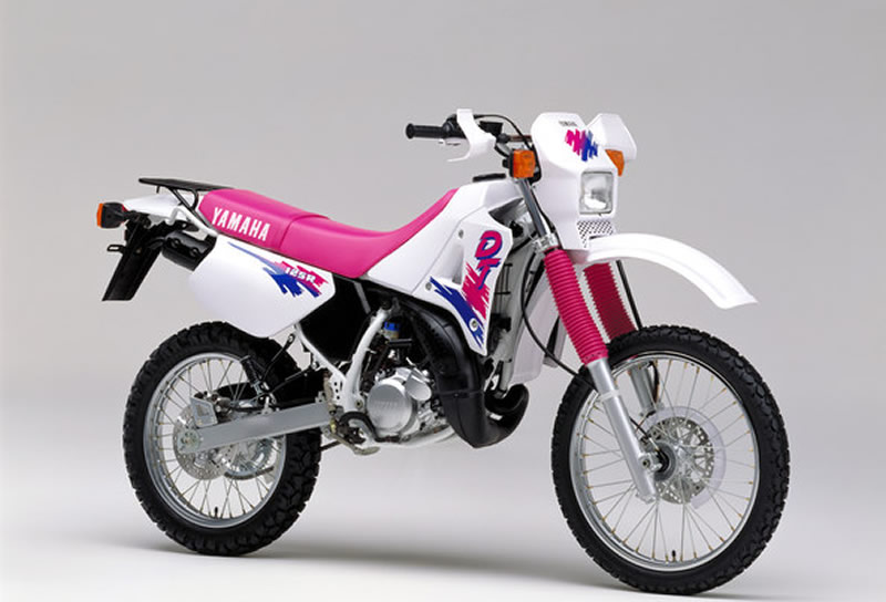 Yamaha dt 125 modified